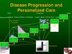 disease progression and personalized care