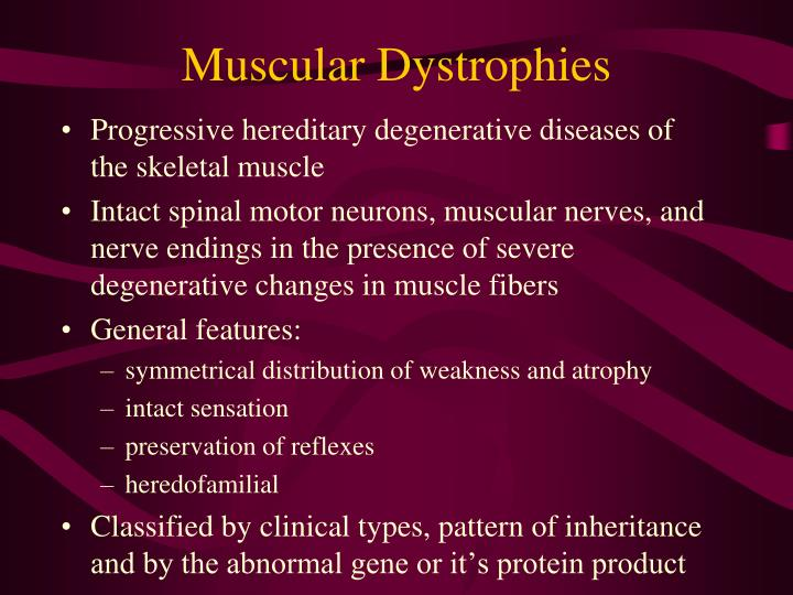 Muscular dystrophies1