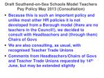 draft southend on sea schools model teachers pay policy may 2013 consultation