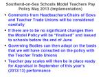 southend on sea schools model teachers pay policy may 2013 implementation