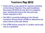 teachers pay 2013