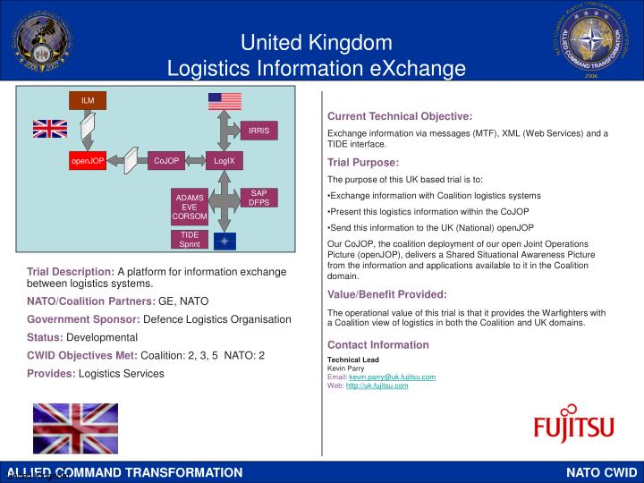 United kingdom logistics information exchange