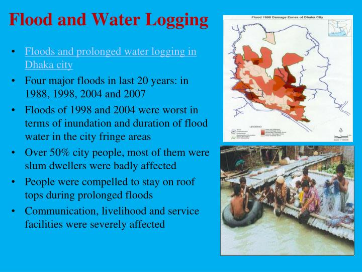 Flood and Water Logging