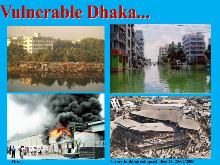 Vulnerable Dhaka...