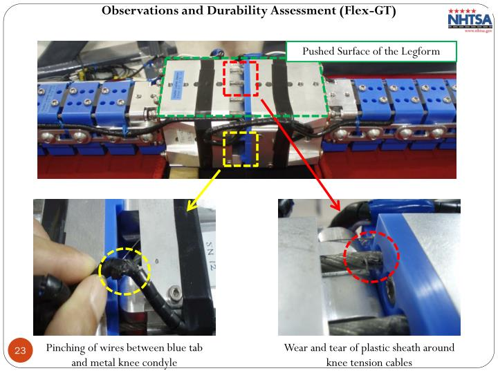 Observations and Durability Assessment (Flex-GT)