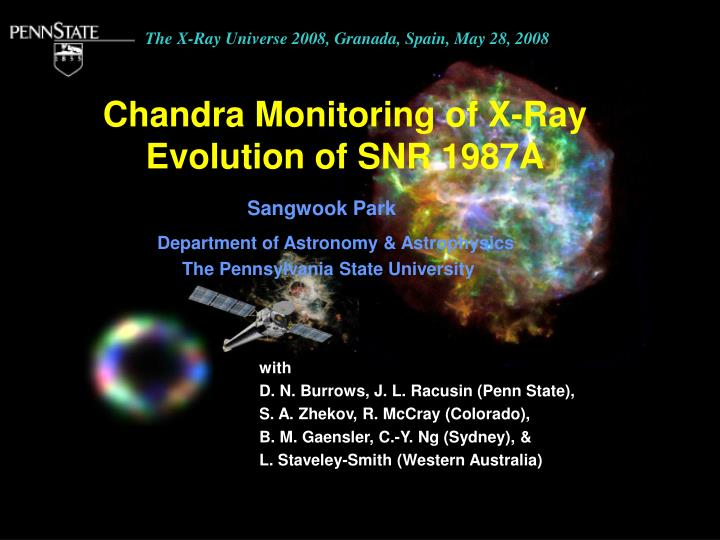 chandra monitoring of x ray evolution of snr 1987a n.