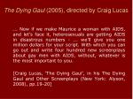 the dying gaul 2005 directed by craig lucas2