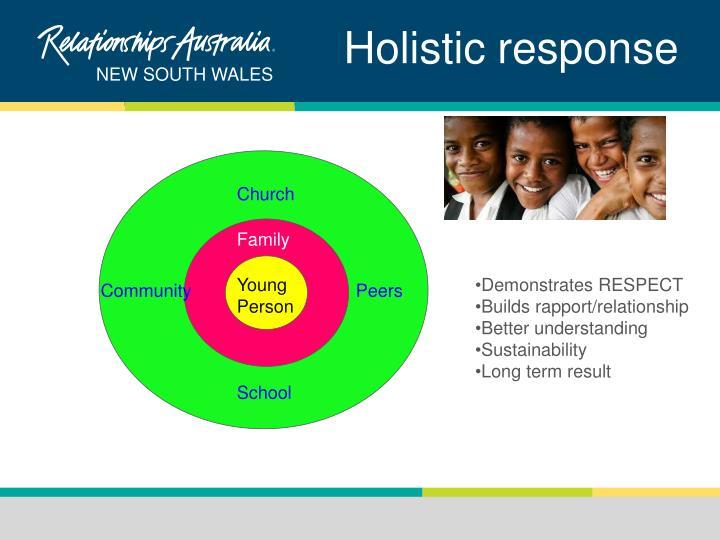 Holistic response