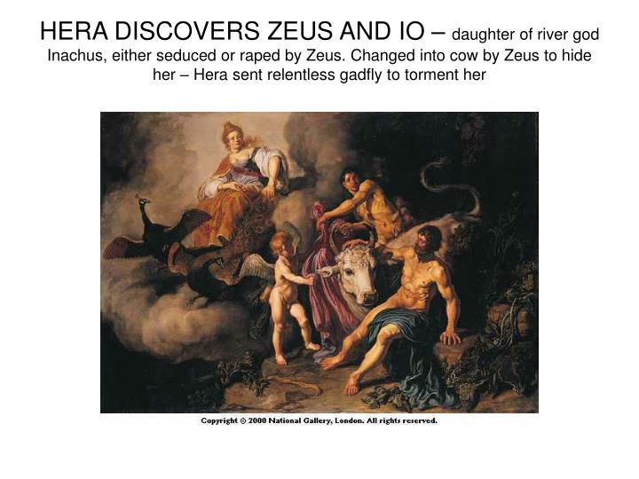 HERA DISCOVERS ZEUS AND IO –