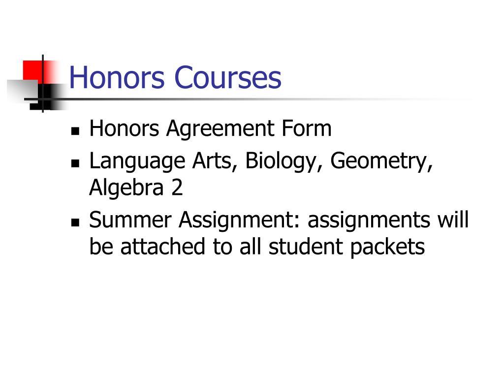 High School Geometry Summer Packet