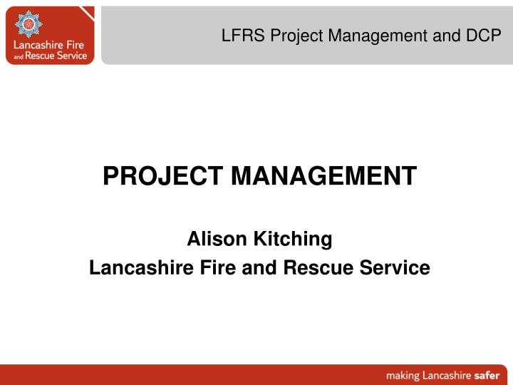 lfrs project management and dcp n.