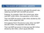 25 1 the basics of economic growth3