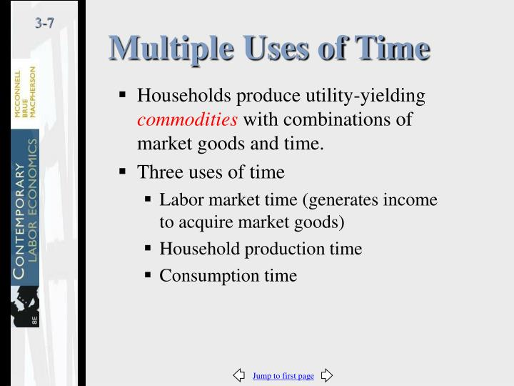 Multiple Uses of Time