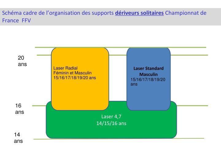 Schéma cadre de l'organisation des supports