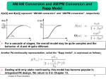 am am conversion and am pm conversion and rapp model