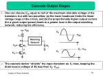 cascode output stages