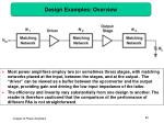 design examples overview
