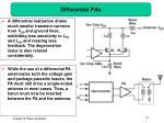 differential pas