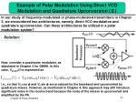 example of polar modulation using direct vco modulation and quadrature upconversion1