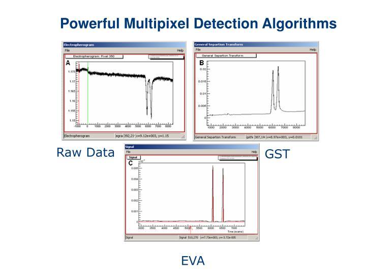 Powerful Multipixel Detection Algorithms