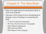 chapter 9 the new brain