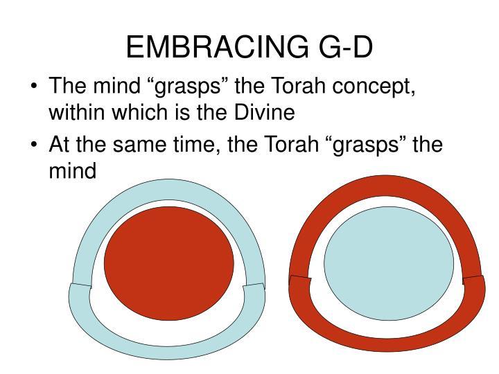 EMBRACING G-D