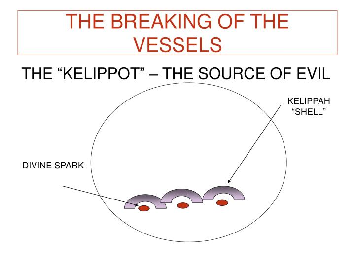THE BREAKING OF THE VESSELS