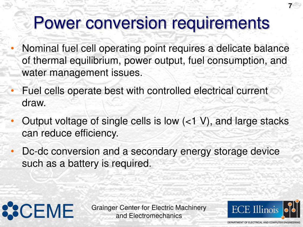 Fuel Cell Stack Efficiency