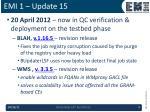 emi 1 update 15