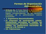 formas de organizaci n administrativa1