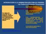 introducci n a la administraci n p blica federal ley federal de entidades paraestatales
