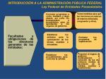 introducci n a la administraci n p blica federal ley federal de entidades paraestatales1