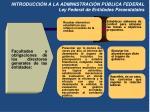 introducci n a la administraci n p blica federal ley federal de entidades paraestatales2