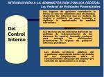 introducci n a la administraci n p blica federal ley federal de entidades paraestatales3