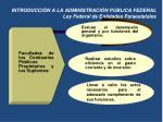 introducci n a la administraci n p blica federal ley federal de entidades paraestatales4