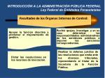 introducci n a la administraci n p blica federal ley federal de entidades paraestatales5