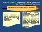 introducci n a la administraci n p blica federal ley federal de entidades paraestatales6