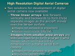 high resolution digital aerial cameras1