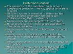 push broom sensors