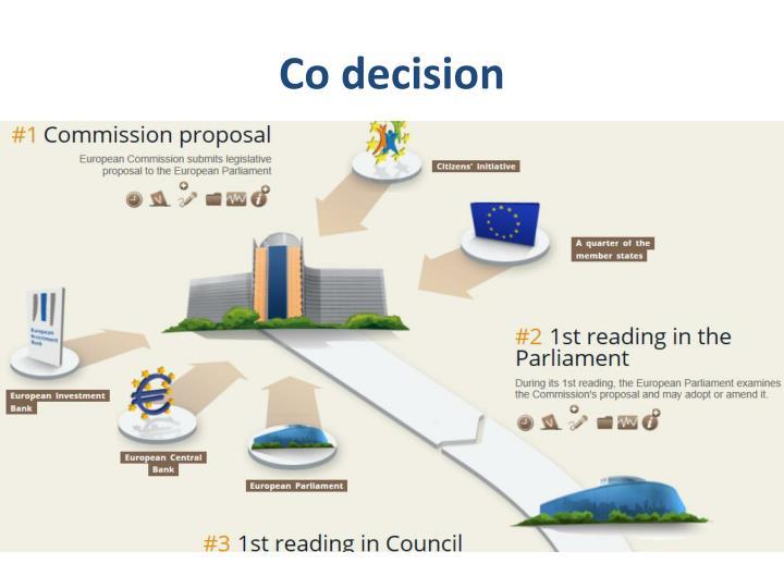 Co decision