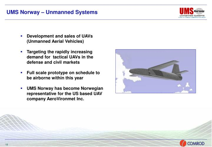 UMS Norway – Unmanned Systems