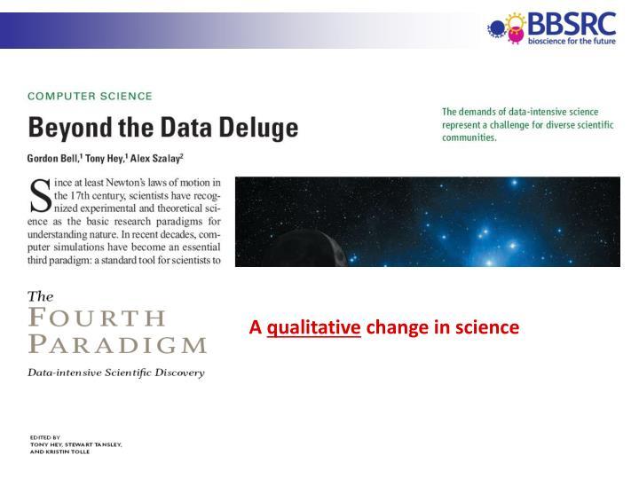 Data-intensive science