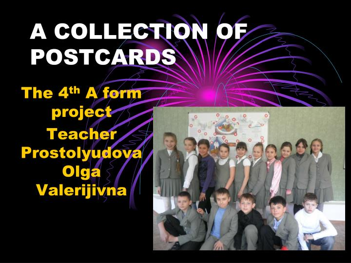 a collection of postcards n.