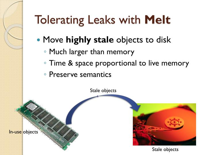 Tolerating Leaks with