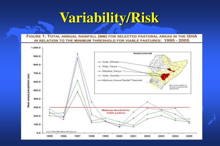 Variability/Risk