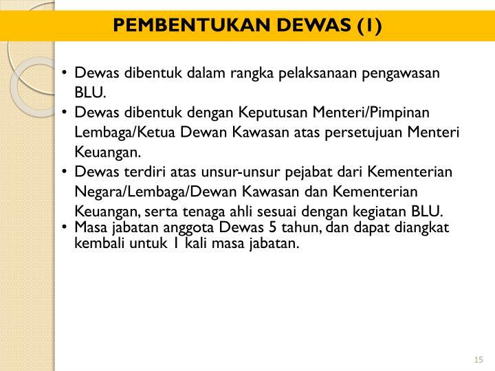 PEMBENTUKAN DEWAS (1)