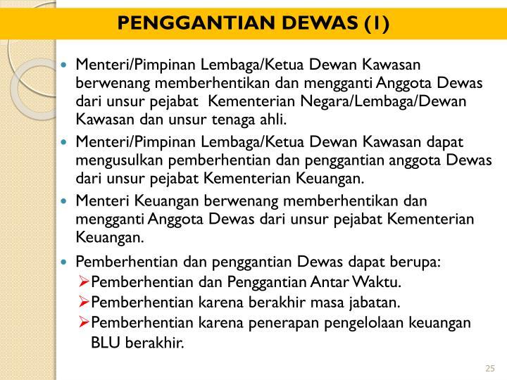 PENGGANTIAN DEWAS (1)