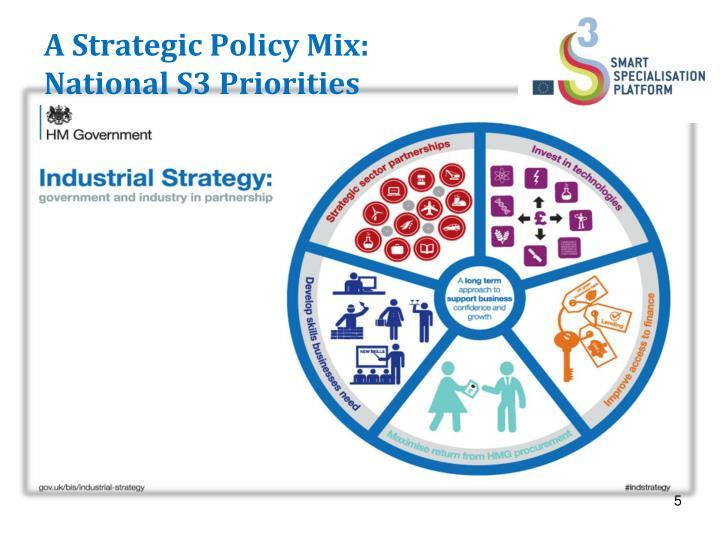 A Strategic Policy Mix:
