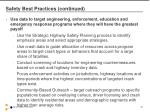 safety best practices continued1