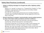 safety best practices continued2